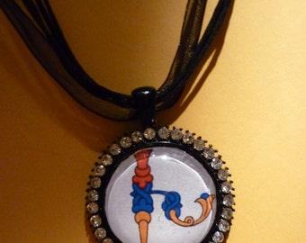 Armenian bird  pendant.