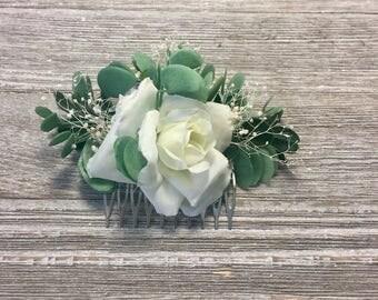 Flower hair comb,Flower hair clip,Flower hair pin,Flower hair accessories,Flower hair piece,Bridal hair comb,Bridal hair piece,Hair comb