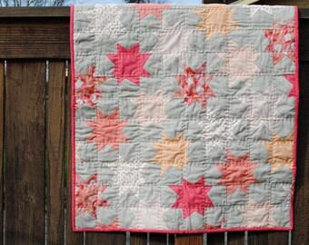 Modern Star Baby Blanket
