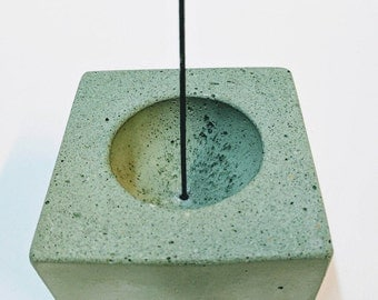 Concrete Incense Burner