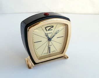Soviet Alarm Clock, Vintage Slava Clock,Guarantee 3 months, Working Clock.Soviet mechanical clock Slava.USSR alarm clock.