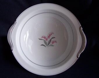 Noritake Crest Pattern Round Vegetable Serving Bowl