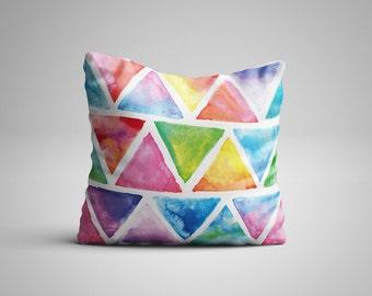Triangle Cushion.