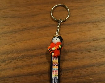 Hill Tribe Doll Key Chain 2