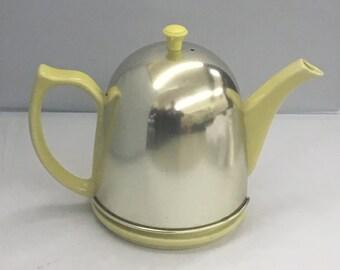 Yellow Lipton Cozy Teapot