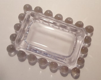 Imperial Glass Company Candlewick Ashtray/ Trinket Dish