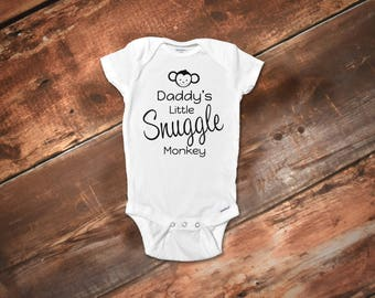 Daddy Onesies®, Funny Baby Onesies®, Funny Onesies®, Baby Girl Onesies®, Funny Baby Clothes, Fathers Day Onesie, Boy Onesies®, Monkey