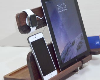 Docking Station Apple Watch Charging Station Watch Station Watch Docking Apple Watch Charger, iPhone 7 Dock Birthday Gifts Valentines day