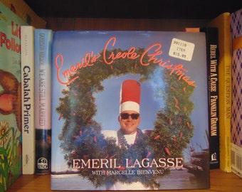 Emeril's Creole Christmas  Cookbook  Emeril Lagasse with Marcelle Bienvenu  1997