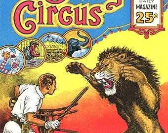 Clyde Beaty - Clyde Beaty Circus Poster - Clyde Beaty Wall Art - Circus Print - Circus Art - Circus Lover - 8x10 - 11x14 (JS00352)