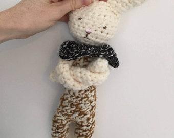 BALANCE toy, wool, stuffed animal doll