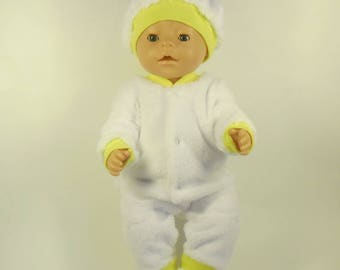 Baby Born doll clothes. Jumpsuit.