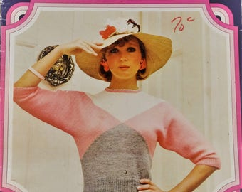Vintage Patons All Time Greats knitting pattern booklet - 11 designs from the 30s to 50s