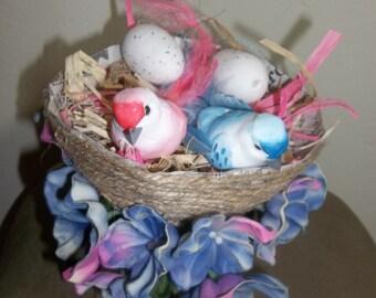 Jute Bird's Nest