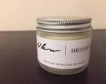 Home made vanilla body butter