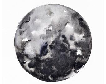 Black Moon Print, 11x14