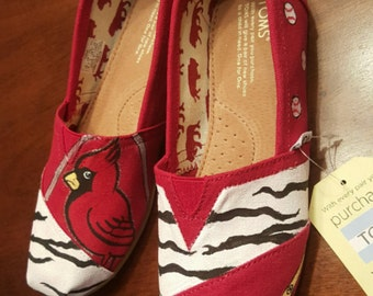 Custom Cardinals Shoes
