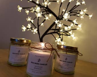Organic Palm Coconut Soy Candles