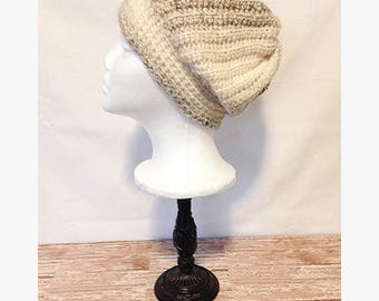 Womens crochet beanie, womens crochet hat, womens slouch beanie, slouch beanie, ribbed beanie, ladies beanie, ladies hat, slouchy hat