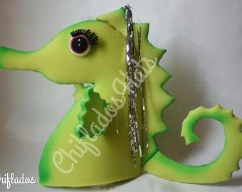 Seahorse Fun Party Hat