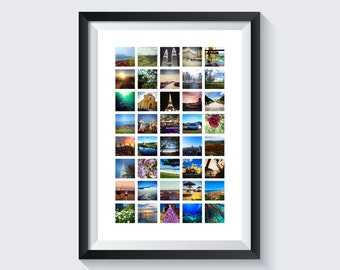 A2 Custom Photo Collage Poster