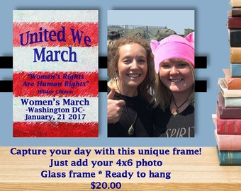 Women's March on Washington Frame