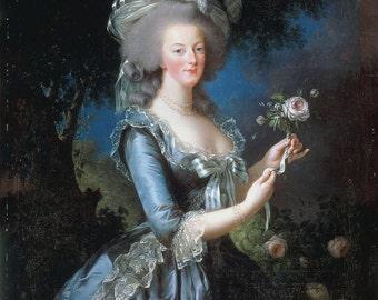 Portrait of Marie Antoinette, 1783, Élisabeth Vigée Le Brun