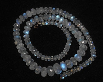 """Natural RAINBOW MOONSTONE faceted beads,Rondelles beads ,4 mm - 9 mm ,15""""strand[E0076]"""