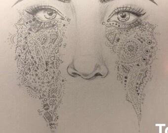 Crying Art