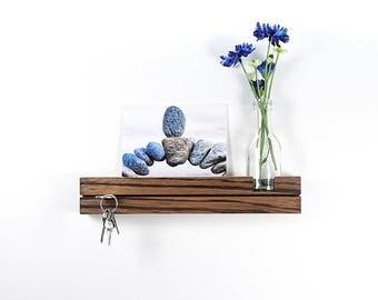 Key bar Zebrano with flower vase key board