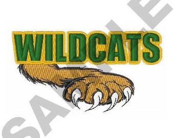Wildcats - Machine Embroidery Design