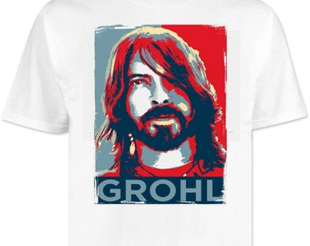 Dave Grohl . Foo Fighters T shirt / shirts Rock . Metal . Heavy
