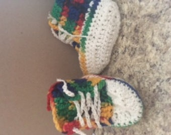 Shoes woven type talk of colors for baby up to 18 months