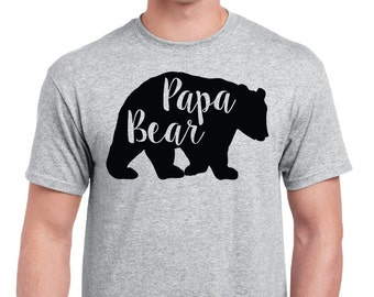 Papa Bear Shirt; Father's Day Gift; Birthday Gift Ideas For him; Family Bear Shirts; Mama Bear Shirt; Christmas Gift; Baby Bear Shirt; Bear