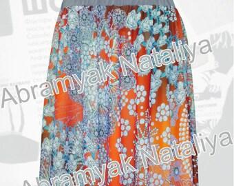 Chiffon skirts maxiChiffon printed skirtsChiffon skirts onlineAnkara chiffon skirts plus sizeAfrican coral skirts Long chiffon circle skirts