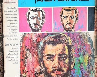 The Art of Painting Portraits and Features, Vintage Magazine, 1970s