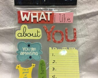 Soft Spoken Word Stickers