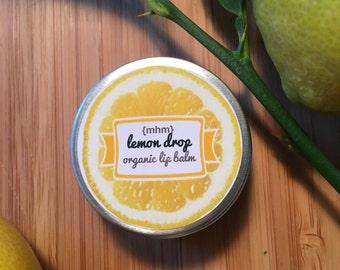 Lemon Drop Organic Lip Balm
