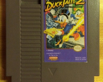 Duck Tales 2 NES Reproduction Game
