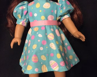 American girl doll Easter dress