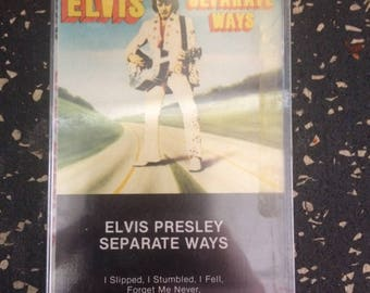 Elvis Presley: Separate Ways Cassette Tape Sealed by RCA