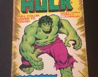 The Incredible Hulk Paperback Comic by Marvel
