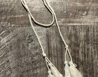 Tassle Rope Necklace