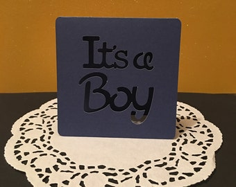 Baby Shower Table Place Setting