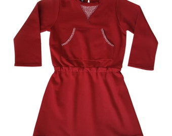 ROBY bio cotton jersey Red