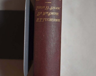 A Complete Manual of English Literature by Thomas Shaw 1867 1st Edition HC
