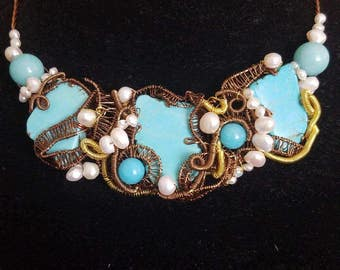 """The """"Blue Lagoon"""" Necklace"""