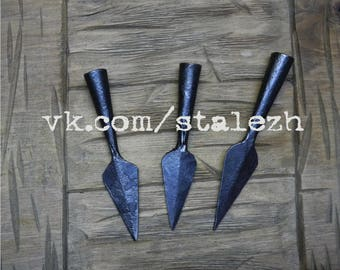 Hand Forged Arrowhead, Medieval Accessories, Rustic, Ancient Accessories, Reenactment, SCA, LARP, Viking Accessories, Archery,Viking Hunting