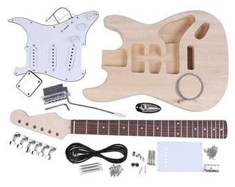 DIY Electric Guitar Kit - Durable Materials - Fender Stratocaster