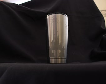 Disney Etched Stainless Steel Tumbler